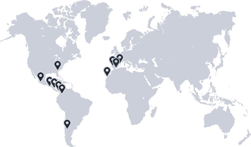 Mapa clientes dispongo