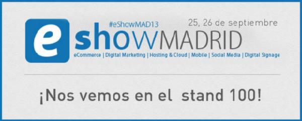 Mabisy estará presente en el eShow Madrid 2013