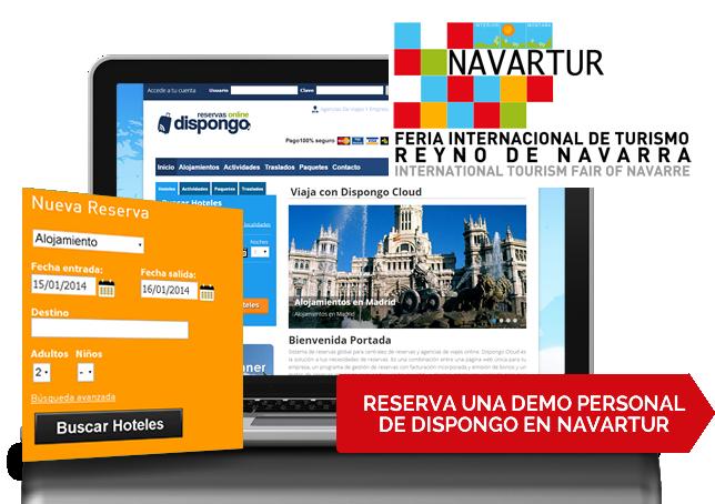 Reserva una demo personal de Dispongo en Navartur 2015
