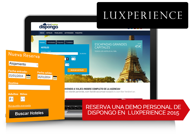 Reserva una demo personal de Dispongo en Luxperience