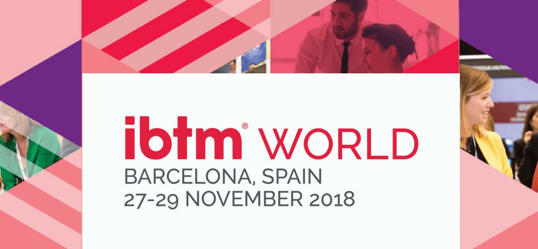 Nos vemos en IBTM Barcelona 2018