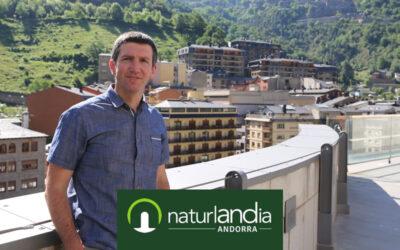 """Xabier Ajona, director de Naturlandia: """"Somos ocio en la montaña y ahí es donde podemos crecer"""""""